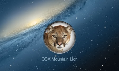 установка OS X Mountain Lion